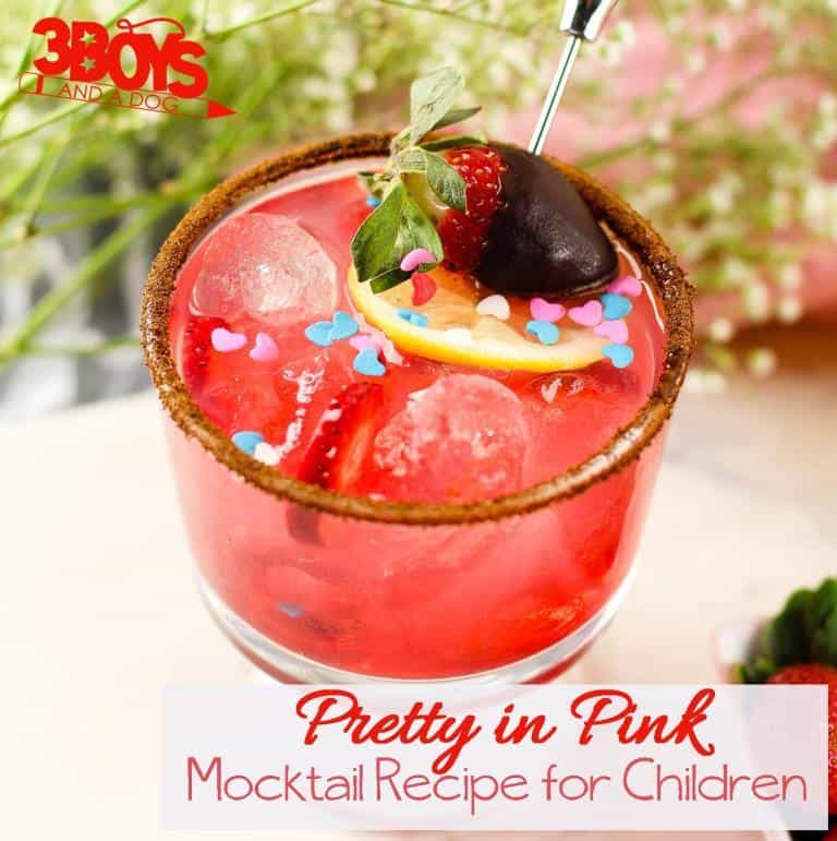 Pink Faux Cocktail Recipe for Teens