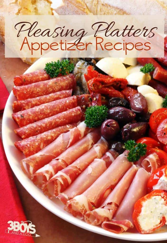 Pleasing Platters Appetizer Ideas