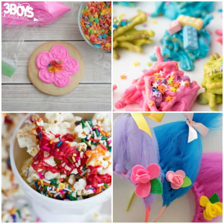 Trolls Crafts and Activities to Make
