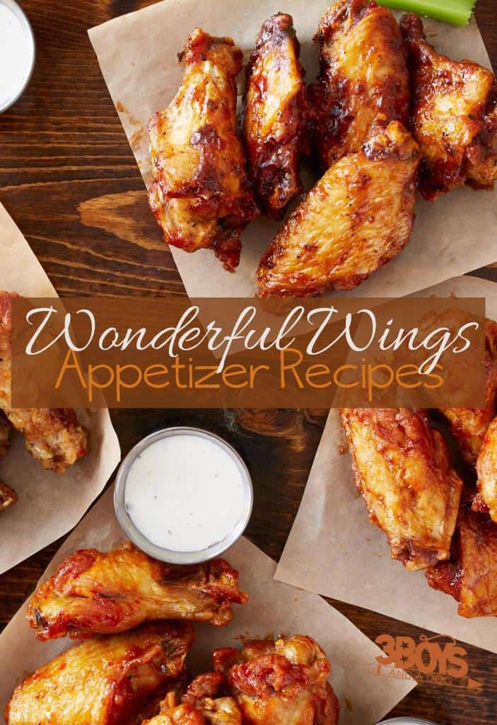 Wonderful Wings Appetizer Recipes