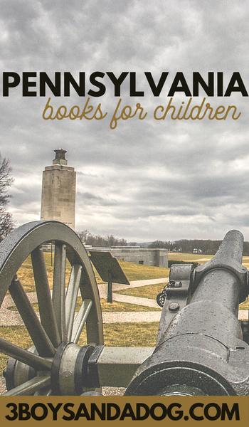 Pennsylvania books for kids make learning fun