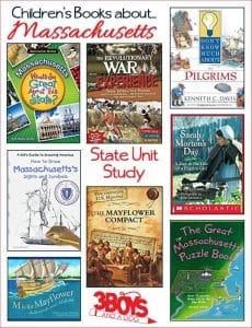 Children's Books About Massachusetts