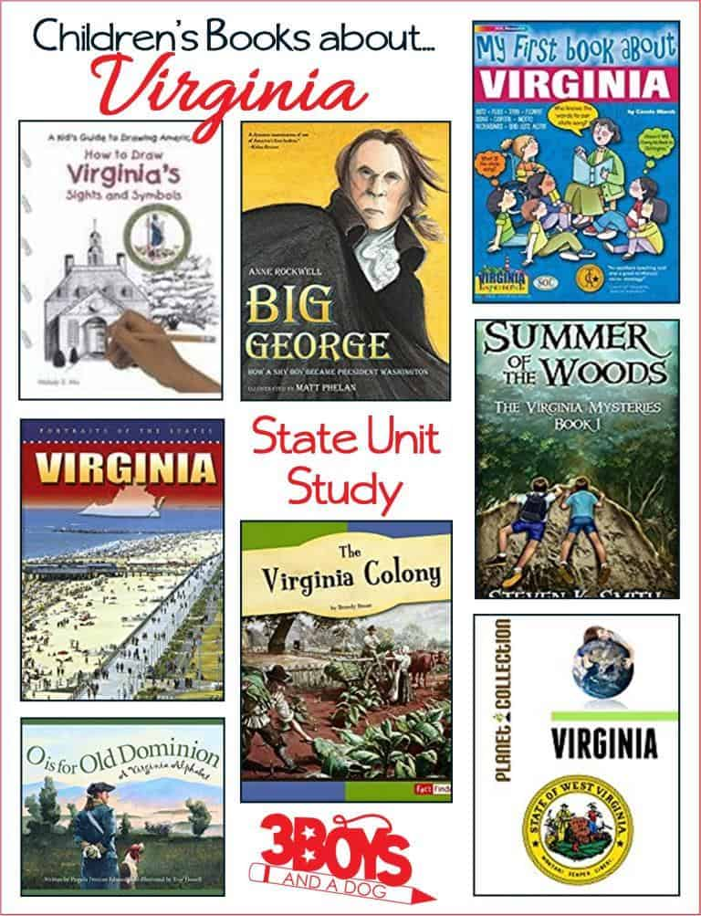 Children's Books about the State of Virginia