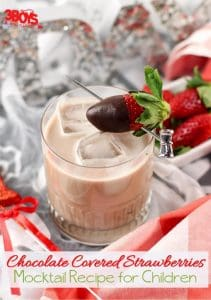 Chocolate Covered Strawberries Mocktail Recipe