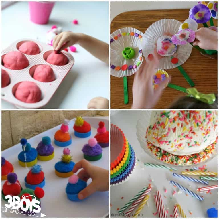 Cupcake Activities for Kindergarten