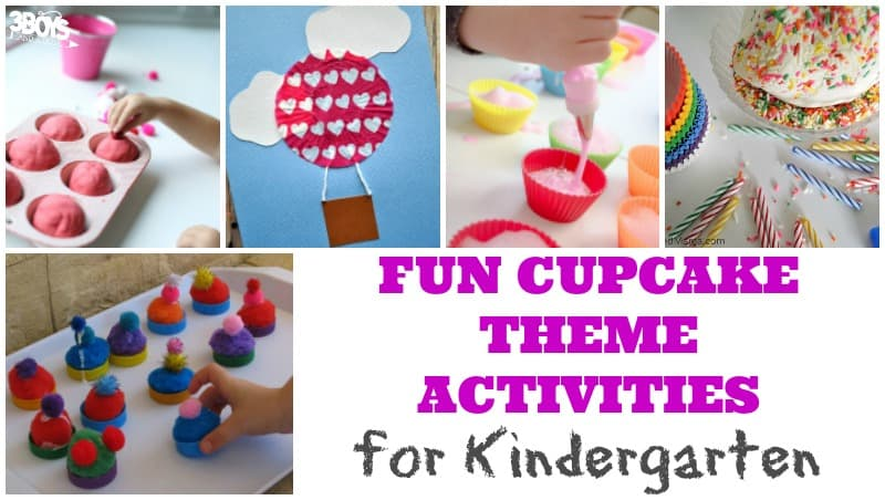 Fun Cupcake Theme Activities for Kindergarten