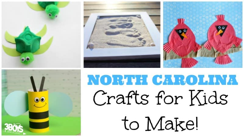 Fun North Carolina Crafts for Kids
