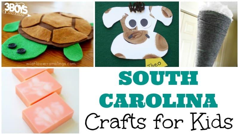 Fun South Carolina Crafts for Kids