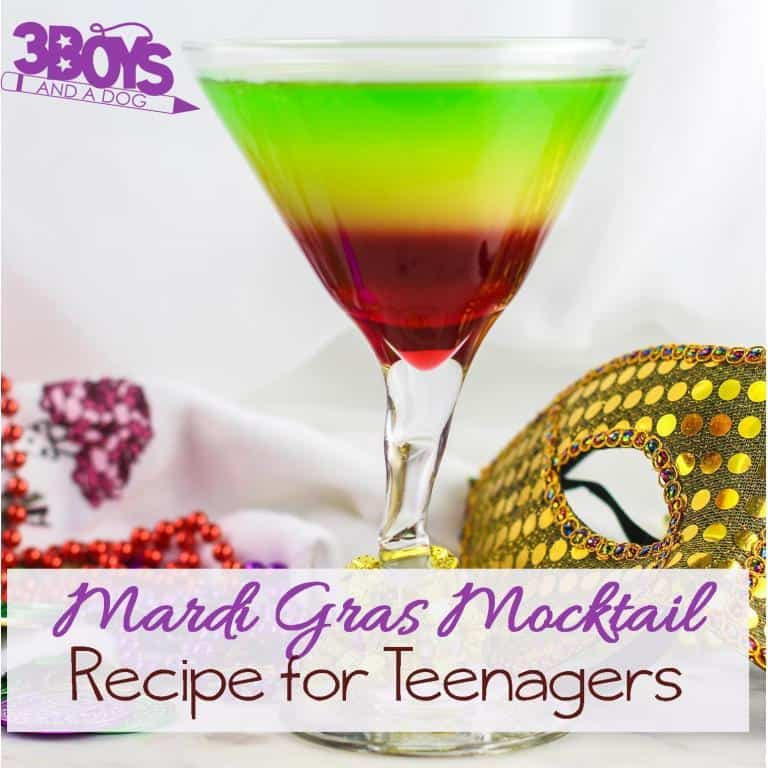 Mardi Gras Mocktail Recipe