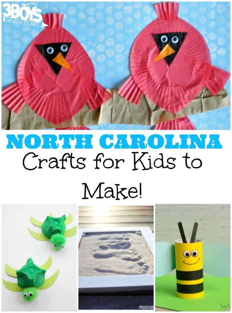 North Carolina Crafts for Kids