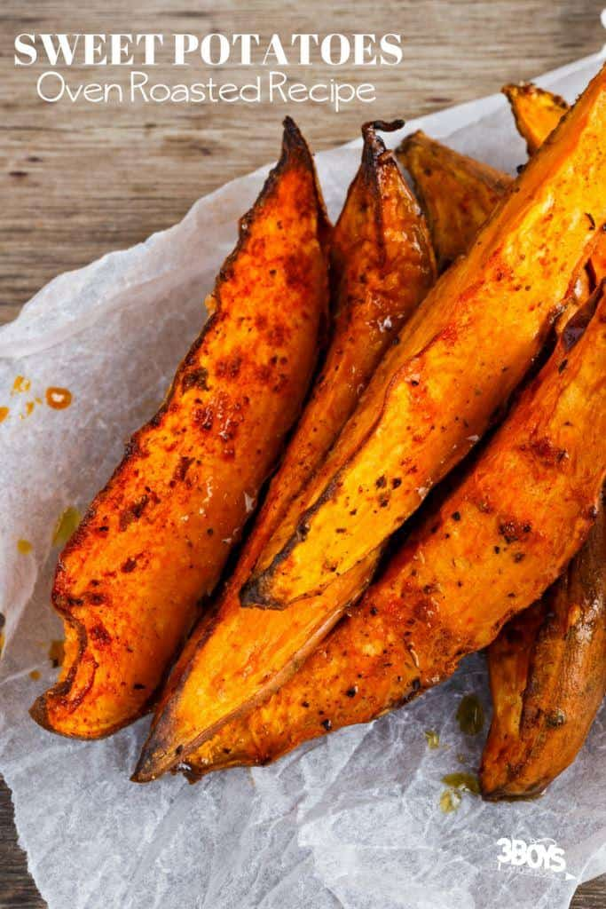 Oven Sweet Potato Steak Fries Recipe