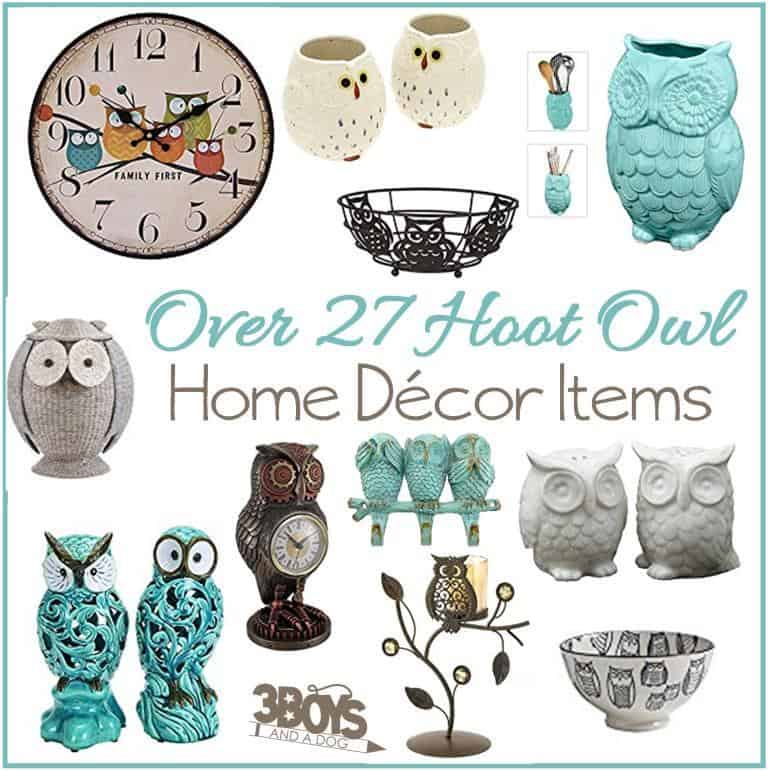 Luxury Over Wise Owl Home Decor Accent Pieces