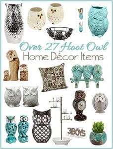 Hoot Owl Home Decor Pieces