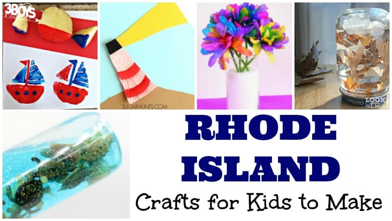 Rhode Island Crafts for Kids to Make