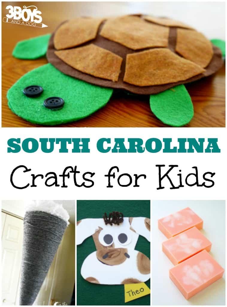 South Carolina Crafts for Kids