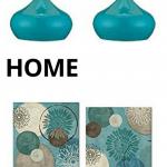 Aqua Or Teal Home Decor Accent Pieces 3 Boys And A Dog