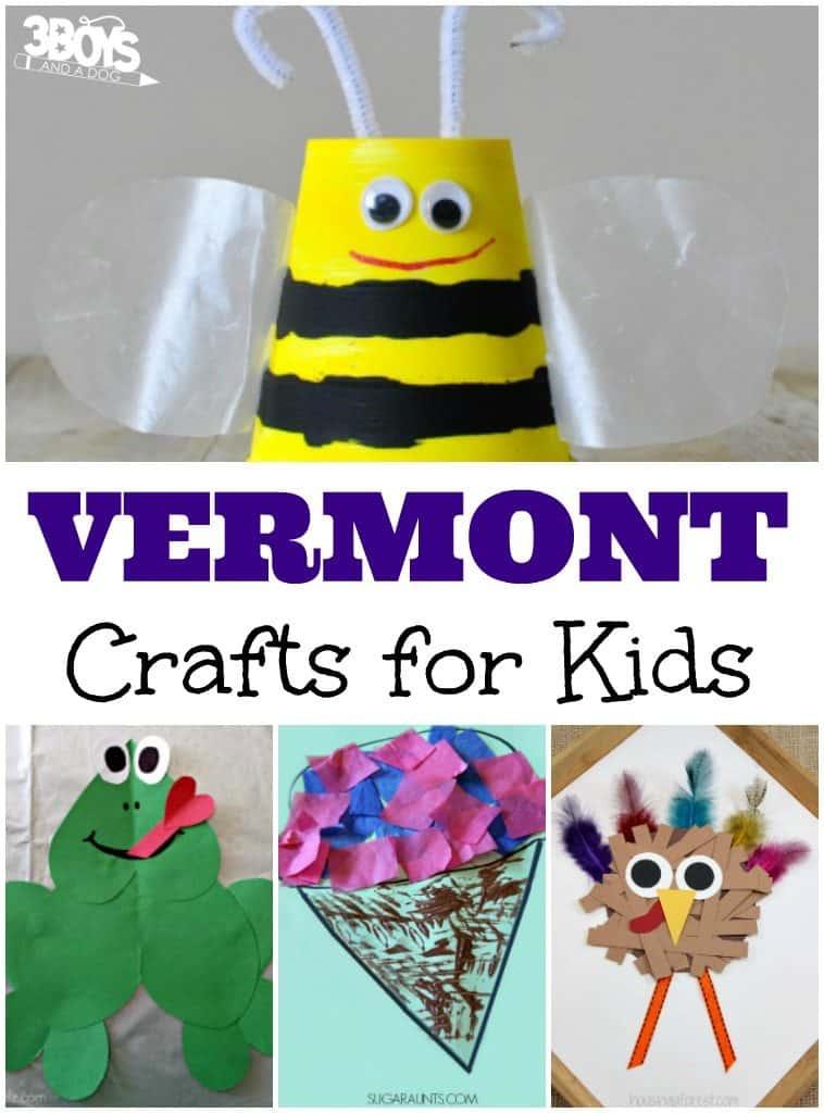 Vermont Crafts for Kids