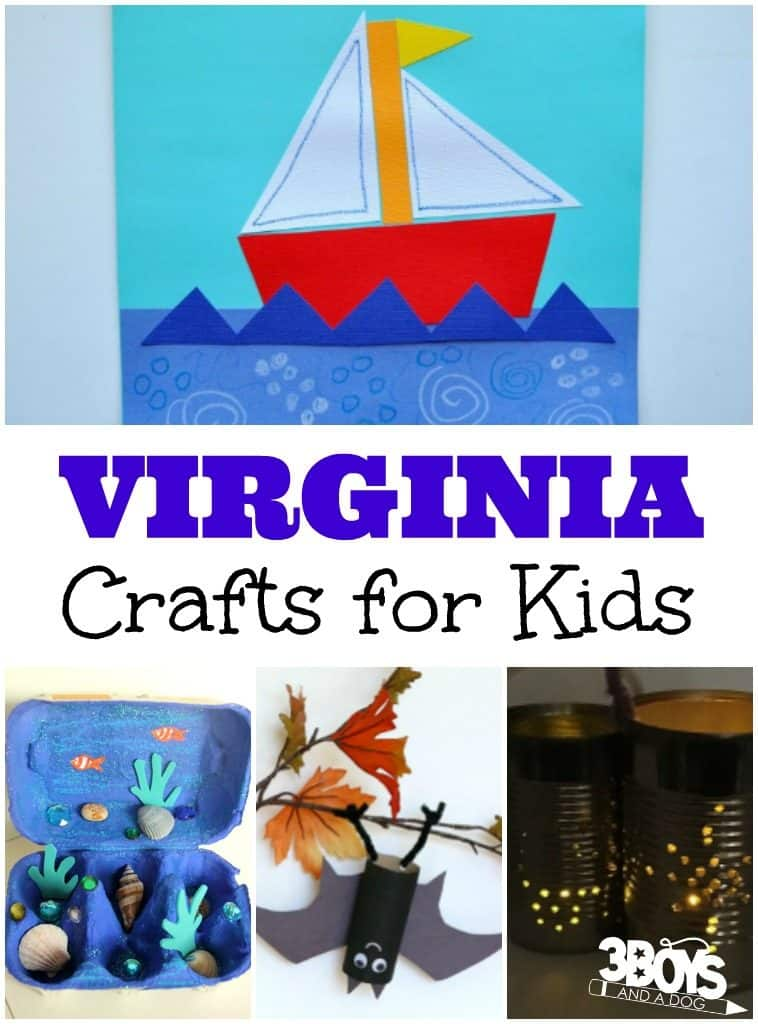 Virginia Crafts for Kids