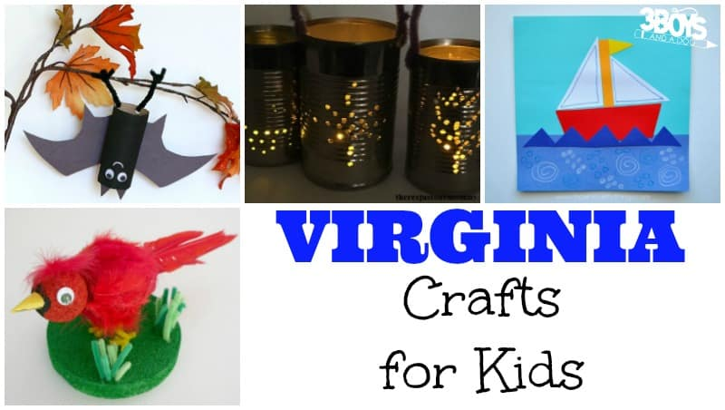 Virginia Crafts for Kids to Make