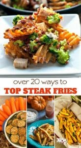 Try these ways to top steak fries to turn your side dish into the star of the meal!