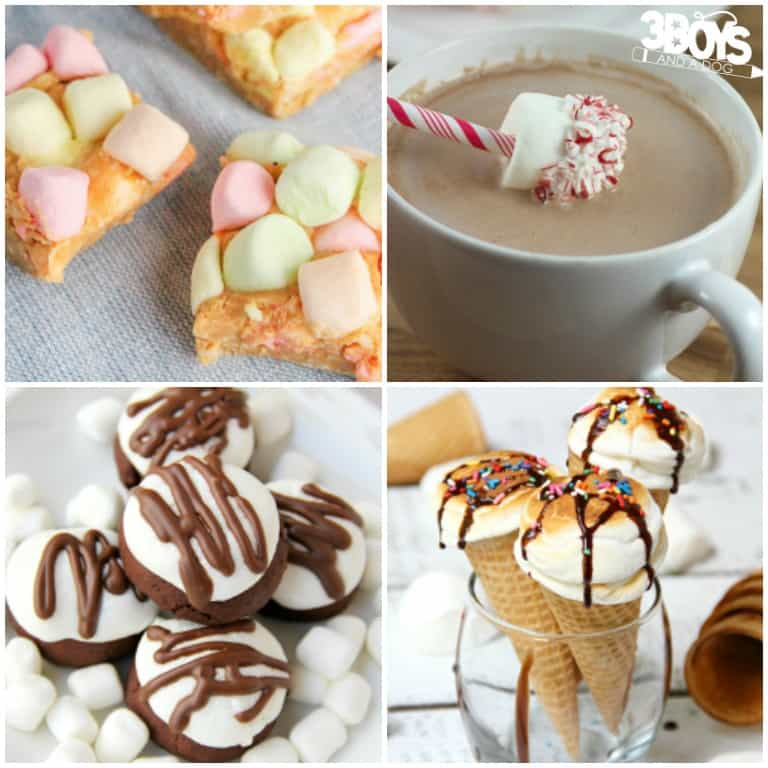 30+ Marshmallow Recipes