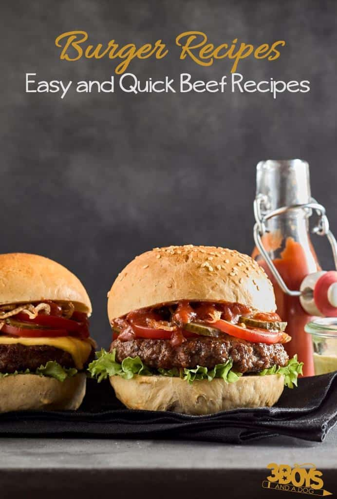 Burger Recipes _ Easy and Quick Beef Recipes