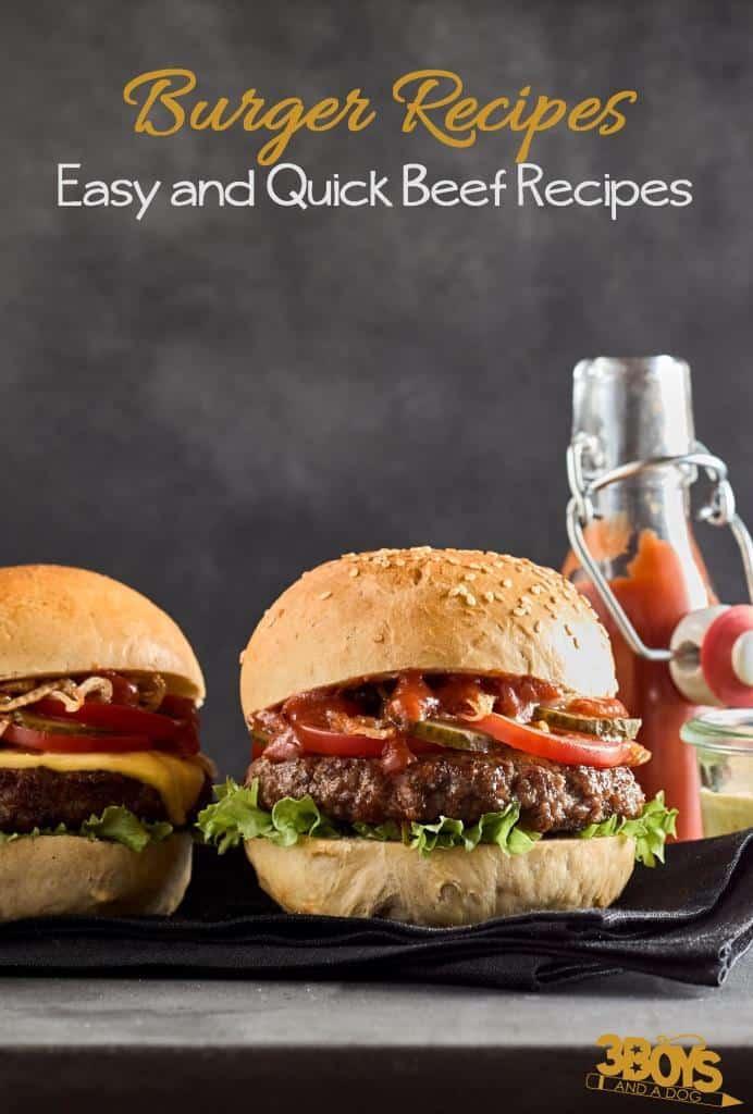 Burger Recipes _ Easy and Quick Beef Recipes