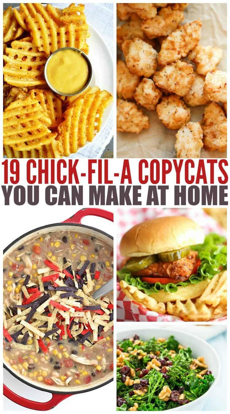 Copycat Chick-Fil-A Recipes