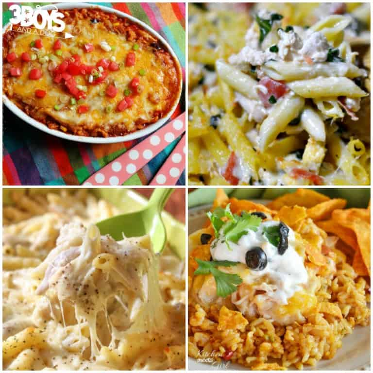Chicken Casserole Recipes for the Family