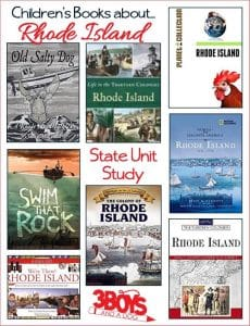 Rhode Island State Books for Kids