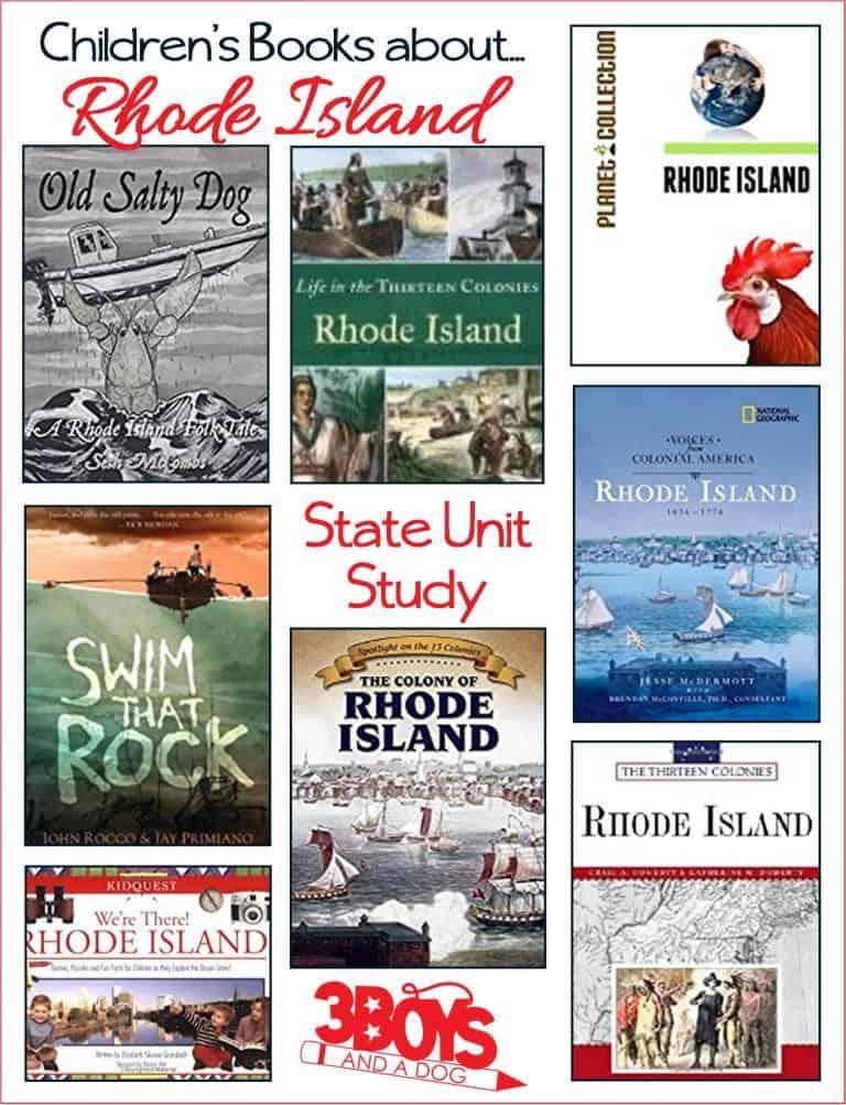 Rhode Island State Books for Kids