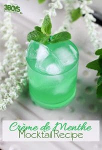 Mint Green Creme de Menthe Mocktail Recipe for Kids