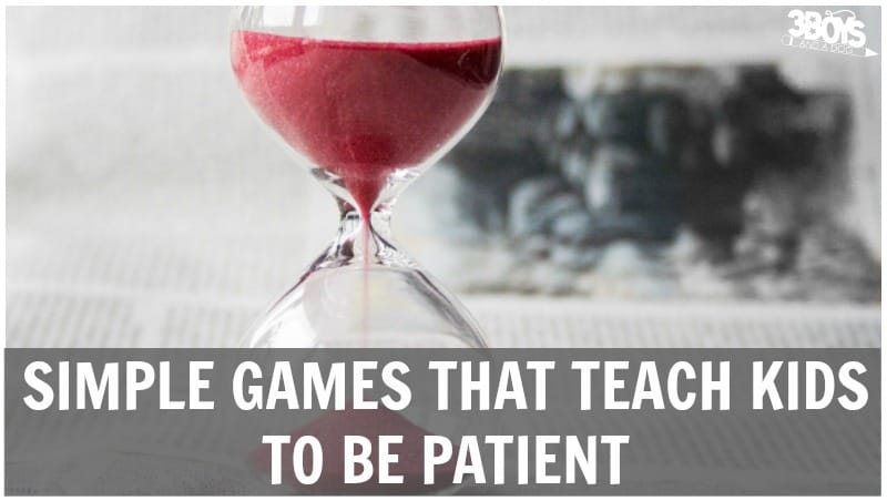 Games That Teach Patience for Kids