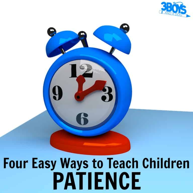 How to Teach Patience to Children Easily