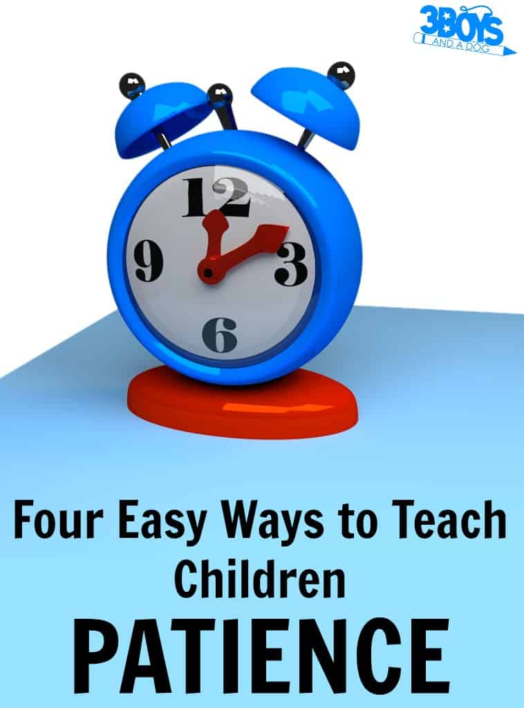 How to Teach Patience to Children