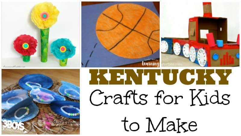 Kentucky Crafts for Kids to Make