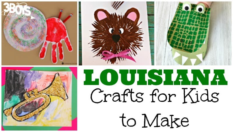 Louisiana Crafts for Kids to Make