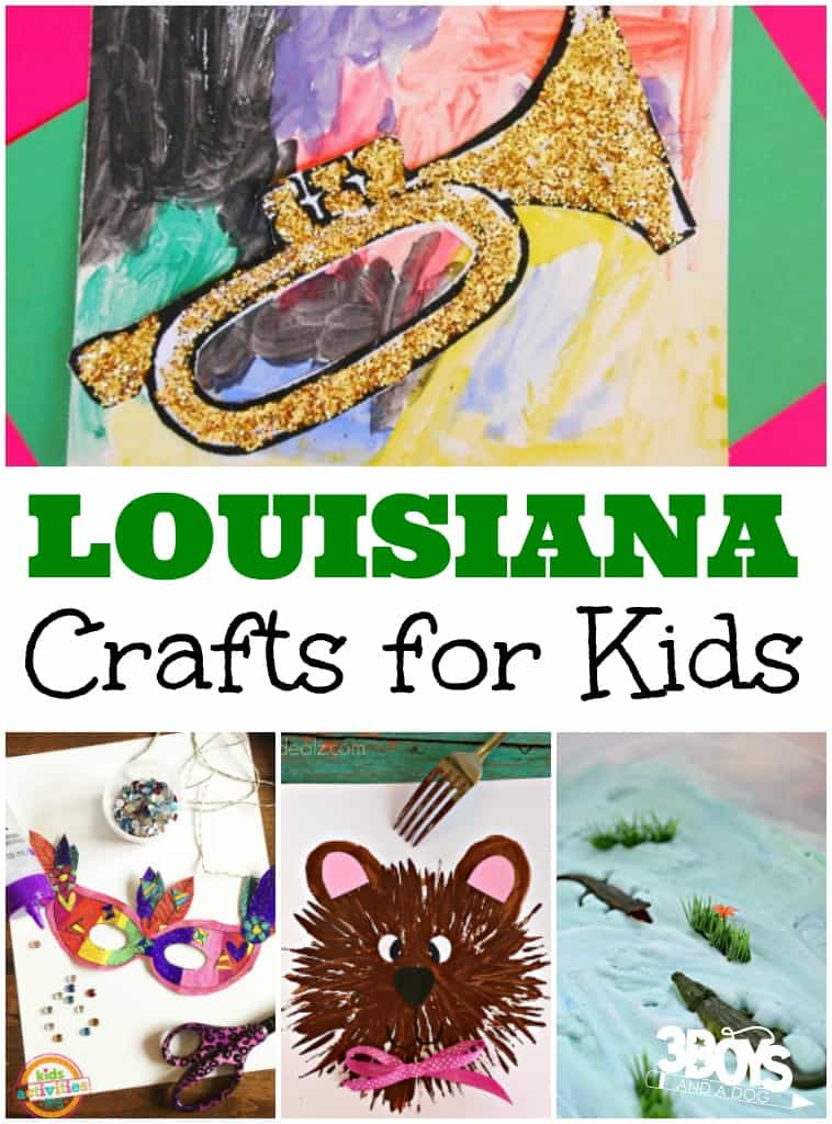 Louisiana Crafts for Kids
