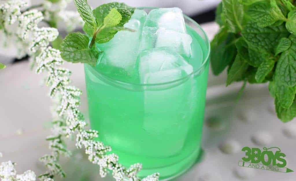 Creme de Menthe Mocktail Recipe for Teens