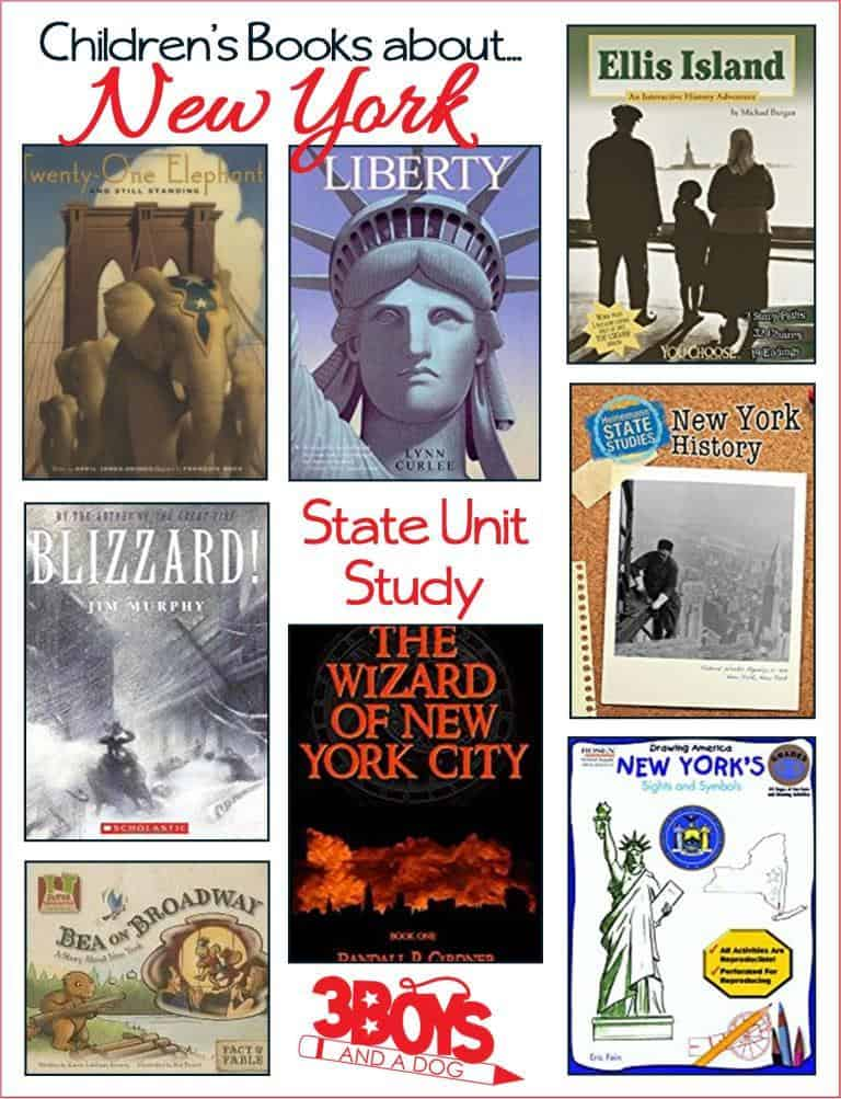 These New York State Books for Kids are sure to please and fascinate your children as they learn all about the state of New York.