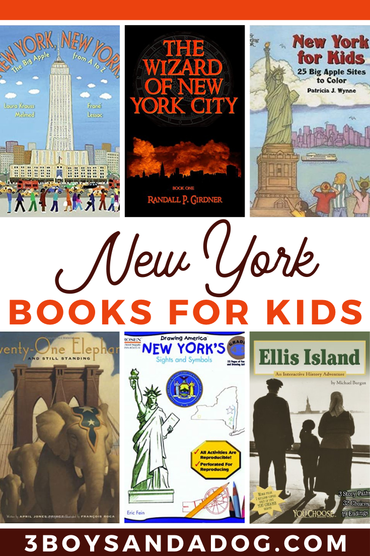 grab some of these New York books for kids