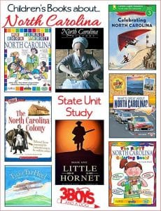 North Carolina State Books for Kids