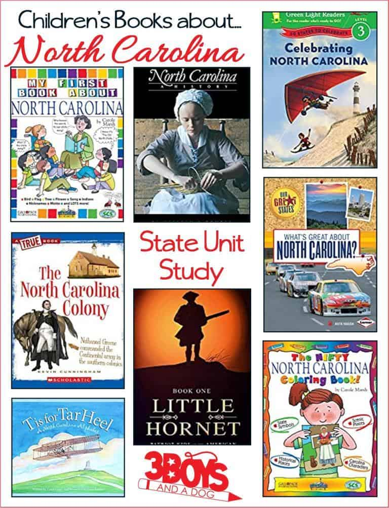 Children's Books About North Carolina