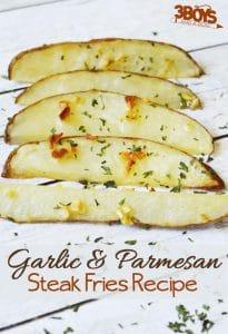Garlic and Parmesan Steak Fries