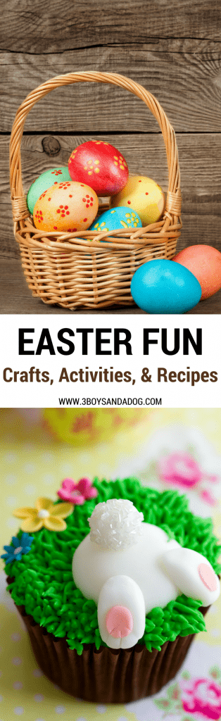 Over 60 crafts, recipes, activities, for kids and families