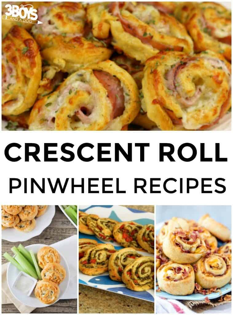 Pinwheel Recipes from Crescent Rolls