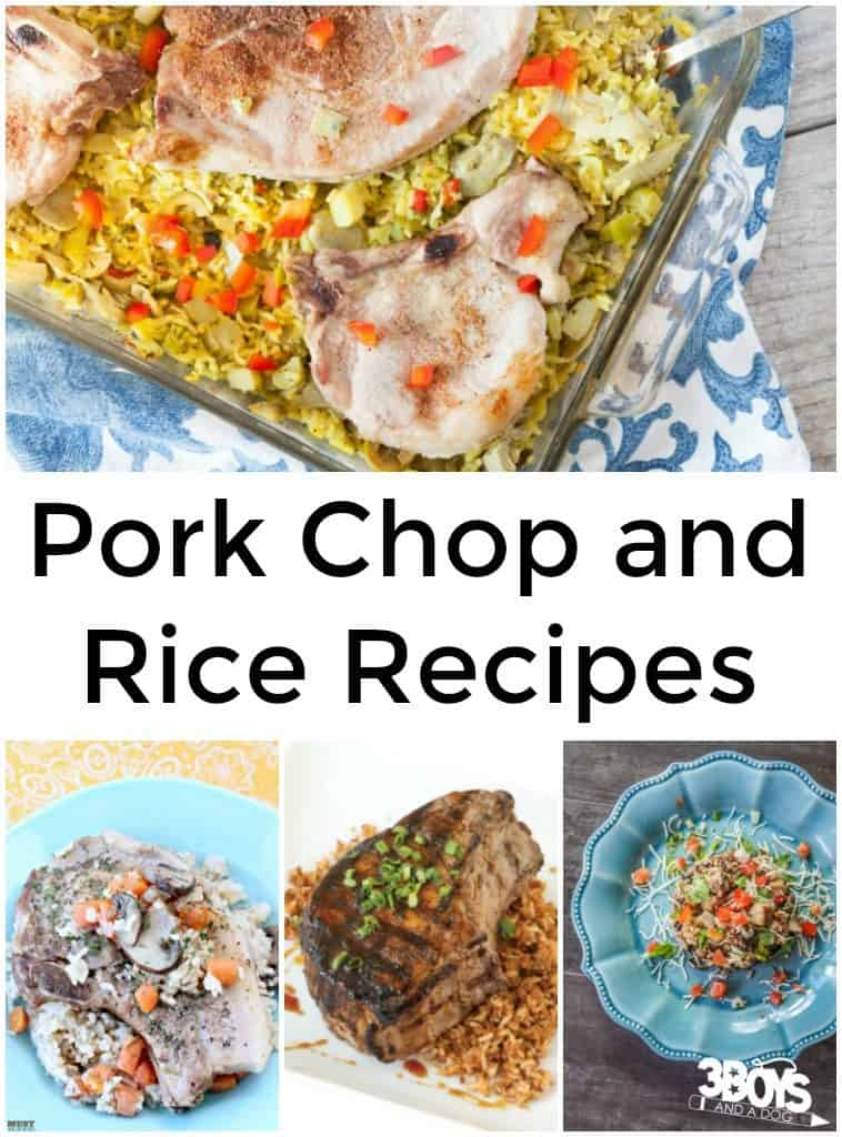 Pork Chop And Rice Recipes 3 Boys And A Dog 3 Boys And
