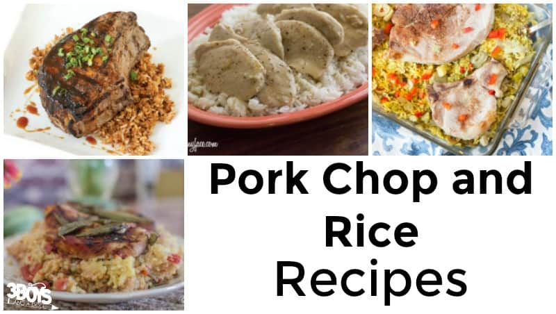Pork Chop and Rice Recipes to Try