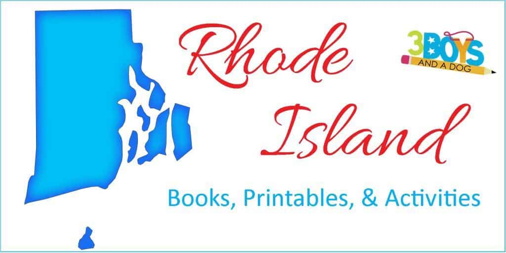 Rhode Island Books Printables Activities