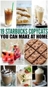 19 Starbucks Copycats You Can Make At Home